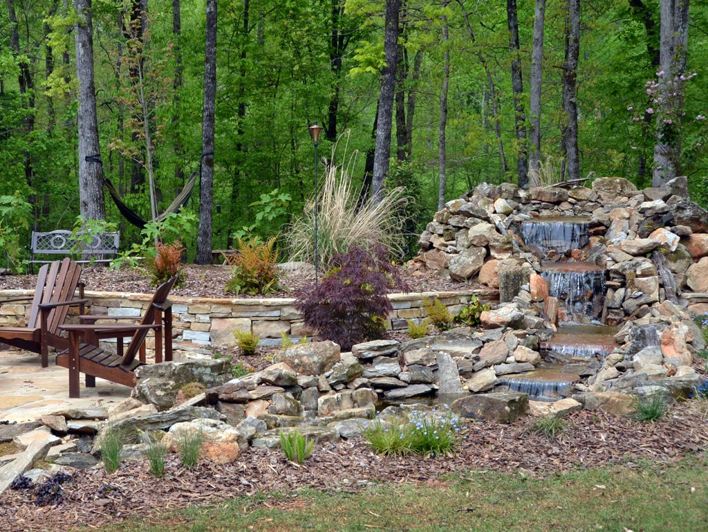 backyard water features alabama