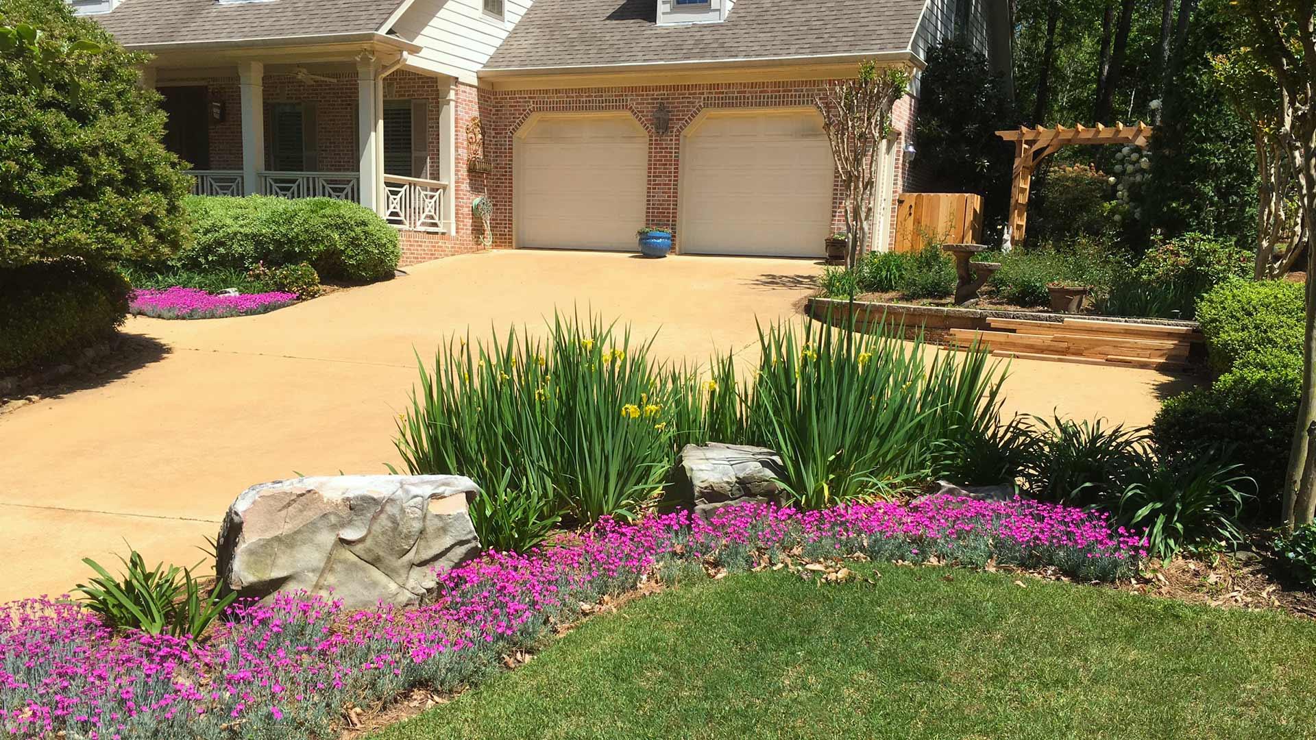 residential landscaping auburn al