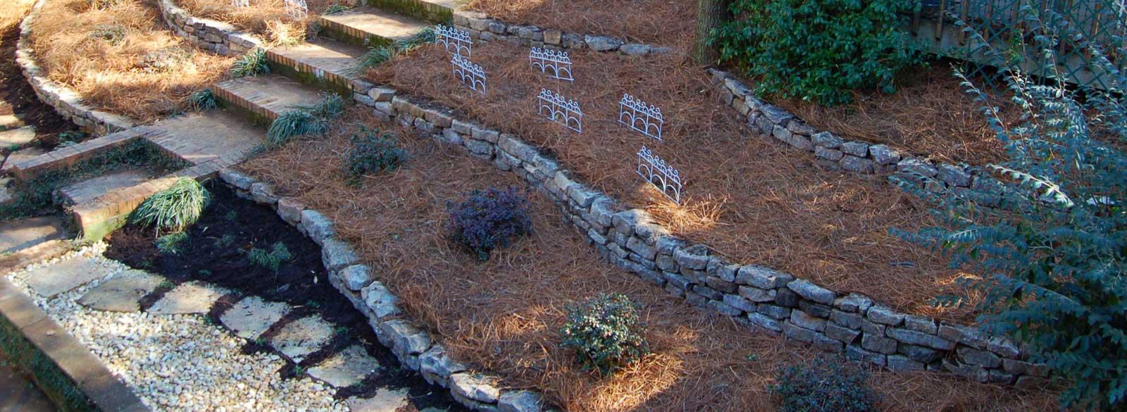 terraced yard auburn al