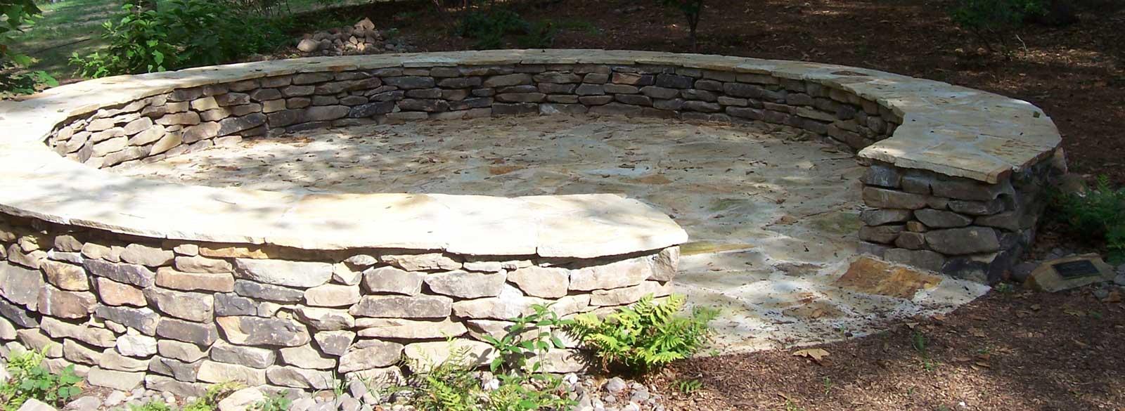 rock walls and patios auburn