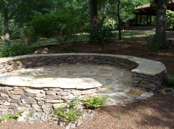 stone patios and walls auburn alabama