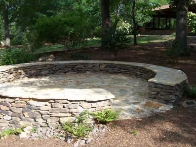 stone patios and walls auburn alabama