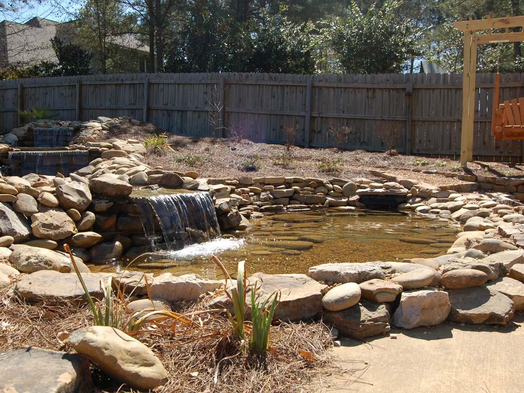 auburn waterfall construction