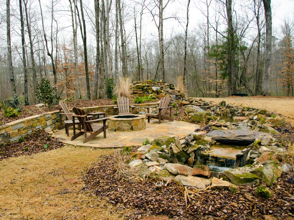 backyard landscaping auburn al
