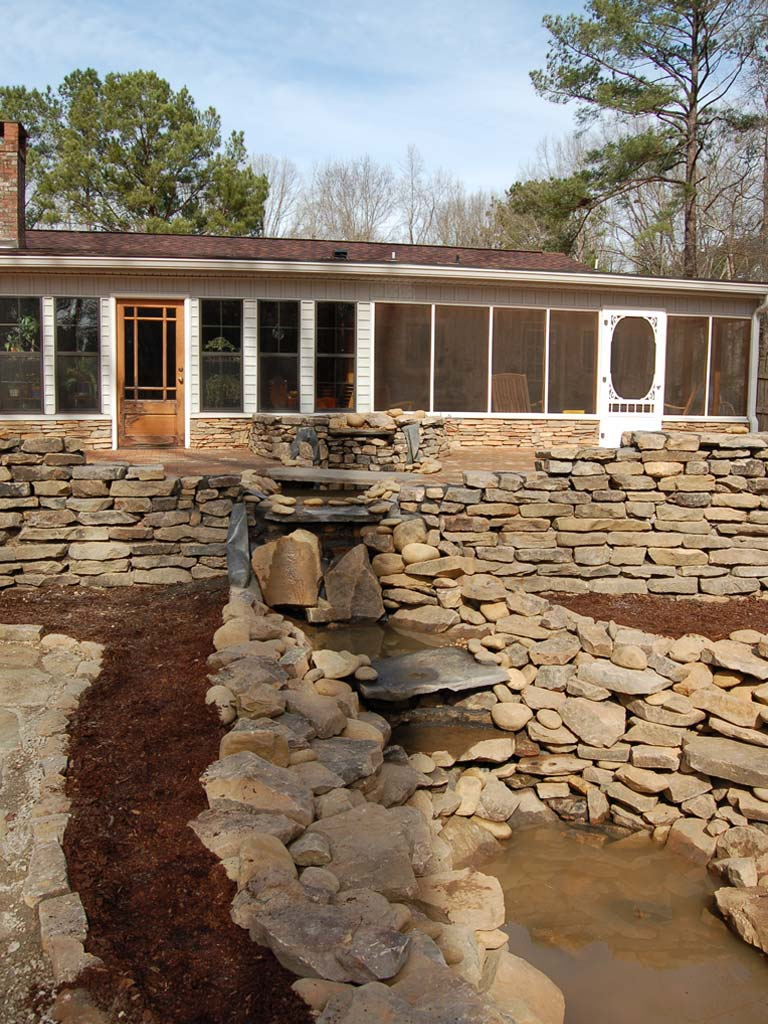 waterfall contractor auburn al