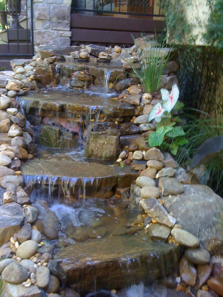 residential water fall opelika al