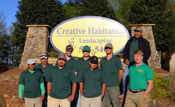 creative habitats landscaping